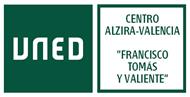 """Escudo de CONSORCIO CENTRO ALZIRA-VALENCIA DE LA UNED """"FRANCISCO TOMÁS Y VALIENTE"""""""